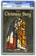 Golden Age (1938-1955):Religious, Christmas Story #393 File Copy (Catechetical Guild, 1955) CGC VG4.0 Cream to off-white pages. Addison Burbank art. Robert F...