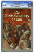Golden Age (1938-1955):Religious, The Commandments of God #nn File Copy (Catechetical Guild, 1954)CGC VG- 3.5 Cream to off-white pages. Bill Lackey art. Robe...