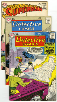 DC Silver Age Group (DC, 1960-69) Condition: Average FN. Group of seven DC comics covers three titles including Detectiv...