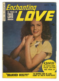 Golden Age (1938-1955):Romance, Enchanting Love #1 (Kirby Publishing, 1949) Condition: VG/FN. Photo cover. Overstreet 2006 VG 4.0 value = $30; FN 6.0 value ...