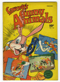 Golden Age (1938-1955):Funny Animal, Fawcett's Funny Animals #46 (Fawcett, 1947) Condition: FN+.Overstreet 2006 FN 6.0 value = $24; VF 8.0 value = $42....