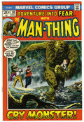 Bronze Age (1970-1979):Horror, Fear #10 (Marvel, 1972) Condition: NM-. Beginning of Man-Thing'sfirst solo series. Gray Morrow cover. Morrow and Howard Cha...