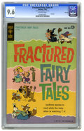 """Silver Age (1956-1969):Cartoon Character, Fractured Fairy Tales #1 File Copy (Gold Key, 1962) CGC NM+ 9.6 Off-white pages. The fondly remembered feature from the """"Bul..."""