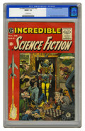 Golden Age (1938-1955):Science Fiction, Incredible Science Fiction #32 (EC, 1955) CGC FN/VF 7.0 Off-whitepages. A great Jack Davis cover. Davis, Al Williamson, Ber...