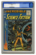 Golden Age (1938-1955):Science Fiction, Incredible Science Fiction #33 (EC, 1956) CGC FN 6.0 White pages.This was the last color comic book published by EC. Wally ...