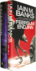 Books:First Editions, Iain Banks First Editions.... (Total: 2 Items)