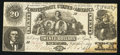 Confederate Notes:1861 Issues, T20 $20 1861 PF-18 Cr. UNL.. ...