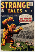 Silver Age (1956-1969):Horror, Strange Tales #98 (Marvel, 1962) Condition: VG+....