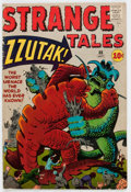 Silver Age (1956-1969):Horror, Strange Tales #88 (Marvel, 1961) Condition: VG+....