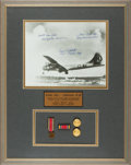 Autographs:Military Figures, Enola Gay: Photograph Signed by Three Crew Members....