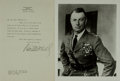 Autographs:Military Figures, General William Mitchell Typed Letter Signed....