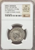 Ancients:Roman Provincial , Ancients: SYRIA. Antioch. Philip I (AD 244-249). BIL tetradrachm(10.30 gm)....