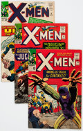 Silver Age (1956-1969):Superhero, X-Men Group of 4 (Marvel, 1964-65) Condition: Average VG.... (Total: 4 Comic Books)