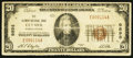 National Bank Notes:Pennsylvania, Clymer, PA - $20 1929 Ty. 1 The Clymer NB Ch. # 9898. ...