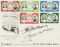 Autographs:Celebrities, Prince Rainier and Princess Grace of Monaco Signed First Day Cover....