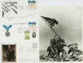 Autographs:Military Figures, [Second World War]. Charles Sweeney, Desmond J. Doss, and John H.Bradley Signed First Day Covers....