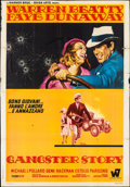 "Movie Posters:Crime, Bonnie and Clyde (Warner Brothers-Seven Arts, 1968). Italian 4 - Foglio (55"" X 76""). Crime.. ..."