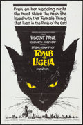 "Movie Posters:Horror, The Tomb of Ligeia (American International, 1965). One Sheet (27"" X 41"") & Uncut Pressbook (12 Pages, 11"" X 17""). Horror.. ... (Total: 2 Items)"