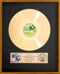 Music Memorabilia:Awards, Pink Floyd Ummagumma RIAA Gold Record Award (HarvestSKBB-388, 1969)....
