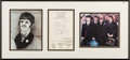 "Music Memorabilia:Autographs and Signed Items, Beatles - Ringo Starr Veterinarian Receipt Signed ""RStarkey"" in Framed Display (UK, 1966)...."