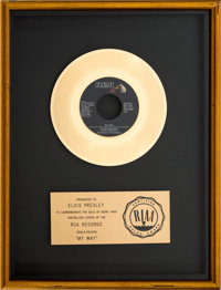 "Elvis Presley ""My Way"" RIAA Gold Record Award (RCA PB-11165, 1977)"