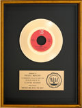 "Music Memorabilia:Awards, Queen ""Another One Bites The Dust"" RIAA Gold Record Award (ElektraE-47031, 1980)...."