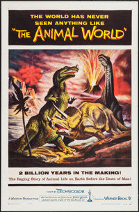 """The Animal World (Warner Brothers, 1956). One Sheet (27"""" X 41"""") & Cut Pressbook (20 Pages, 11.25"""" X 1..."""