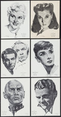 "Movie Posters:Academy Award Winners, Academy Awards Portfolio (International Sales Services, 1962).Award Winner Art Prints (60) (8.25"" X 10.5""). Academy Award W...(Total: 60 Items)"