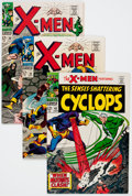 Silver Age (1956-1969):Superhero, X-Men #32, 38, and 45 Group (Marvel, 1967-68).... (Total: 3 Comic Books)