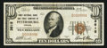 National Bank Notes:Virginia, Petersburg, VA - $10 1929 Ty. 1 First NB & TC Ch. # 3515. ...