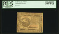 Colonial Notes:Continental Congress Issues, Continental Currency February 17, 1776 $6 PCGS Choice About New58PPQ.. ...