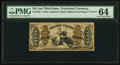 Fractional Currency:Third Issue, Fr. 1357 50¢ Third Issue Justice PMG Choice Uncirculated 64.. ...