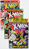 Bronze Age (1970-1979):Superhero, X-Men Group of 18 (Marvel, 1976-80) Condition: Average FN+.... (Total: 18 Comic Books)