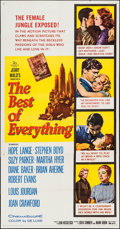 """Movie Posters:Romance, The Best of Everything & Others Lot (20th Century Fox, 1959). Three Sheets (4) (41"""" X 78.5"""" X 41 X 79""""). Romance.. ... (Total: 4 Items)"""