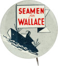 Political:Pinback Buttons (1896-present), Henry Wallace: Top Slogan Button....