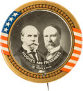 Political:Pinback Buttons (1896-present), Hughes & Fairbanks: Highly Desirable Jumbo Jugate....