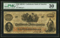 Confederate Notes:1862 Issues, T41 $100 1862 PF-11 Cr. 319A San Antonio Issue.. ...