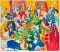 Fine Art - Painting, American:Contemporary   (1950 to present)  , Leroy Neiman (American, 1921-2012). Baden-Baden, 1987.Screenprint in colors. 36 x 42 inches (91.4 x 106.7 cm). Ed.259/...