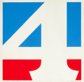 Post-War & Contemporary:Pop, Robert Indiana (American, b. 1928). The American Four, 1970.Screenprint in colors. 23-3/4 x 23-3/4 inches (60.5 x 60.5 ...