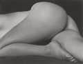 Photographs, Edward Henry Weston (American, 1886-1958). Nude, 1934. Gelatin silver, printed later by Cole Weston. 3-1/2 x 4-1/2 inche...