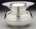 Silver Holloware, American:Bowls, A Tiffany & Co. Silver Spittoon, New York, New York, 20thcentury. Marks: TIFFANY & CO. MAKERS STERLING SILVER25195. 5-...