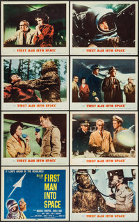 """First Man into Space (MGM, 1959). Lobby Card Set of 8 (11"""" X 14""""). Science Fiction. ... (Total: 8 Items)"""