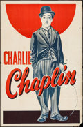 """Movie Posters:Comedy, Charlie Chaplin (1930s). Stock One Sheet (27"""" X 41""""). Comedy.. ..."""