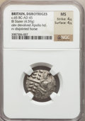 Ancients:Celtic, Ancients: CELTIC BRITAIN. Durotriges. Ca. 65 BC-AD 45. BIL stater(4.59 gm)....