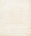 Autographs:Statesmen, Alexander Hamilton Letter Signed as Secretary of the Treasury....