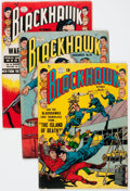 Golden Age (1938-1955):Superhero, Blackhawk Group (Quality, 1951-63) Condition: Average GD.... (Total: 41 Comic Books)