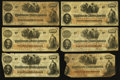Confederate Notes:1862 Issues, T41 $100 1862, Thirty Examples.. ... (Total: 30 notes)
