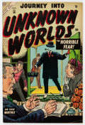 Golden Age (1938-1955):Horror, Journey Into Unknown Worlds #30 (Atlas, 1954) Condition: FN-....