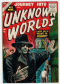 Golden Age (1938-1955):Horror, Journey Into Unknown Worlds #39 (Atlas, 1955) Condition: VG/FN....