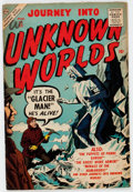 Golden Age (1938-1955):Horror, Journey Into Unknown Worlds #55 (Atlas, 1957) Condition: FN-....
